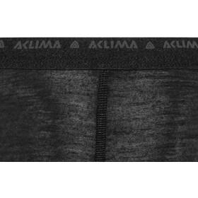 Aclima LightWool Calzamaglia Donna, jet black
